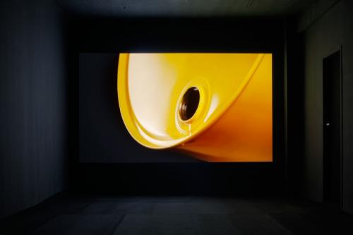 Drdova Gallery: Jan Nálevka, Through Use of Automated Machines We Gain..., HD video, 3 min 10 s, loop, 2013.